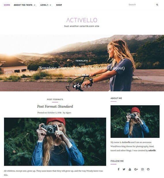 free-blog-theme